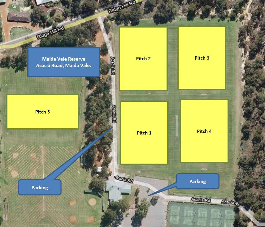 Morgan Park Fixtures Moved To Maida Vale Reserve